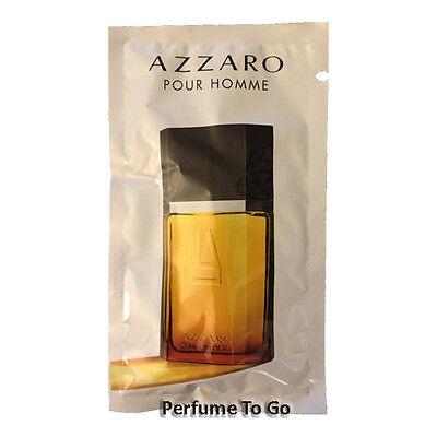 AZZARO pour HOMME for MEN * NEW Fragrance EDT Spray Travel Vial Sample Sealed