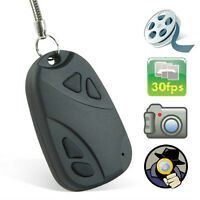 Mini DVR Camera Keychain Porte Cle HD 720P Securite Espion Spy
