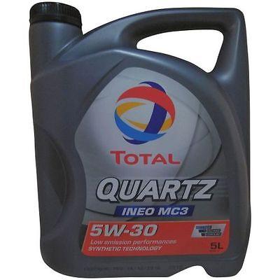 5 Liter Total Quartz Ineo MC3 5W-30 1x5L Dexos2 BMW LL04 MB229.31 MB 229.52 (Pkw-motoren)