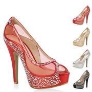 Transparente Schuhe