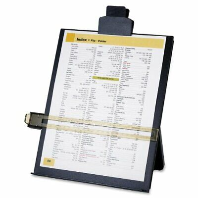 Sparco Copy Holder With Document Clip - 1 Each - Black Spr38952