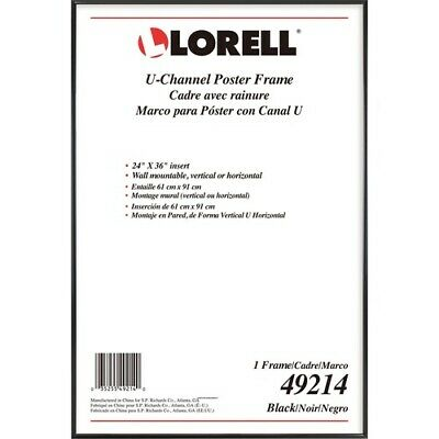 """Lorell Poster Frame - 24"""" x 36"""" Frame Size - Rectangle - Wal"""