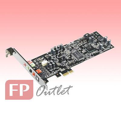 ASUS Xonar DGX Dolby5.1 3D Audio 105dB Headphone AMP Low Profile PCIe Sound Card