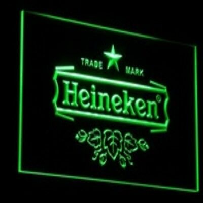 LED neon light sign  bar pub beer man cave happy hour
