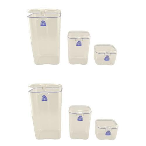 air tight food storage containers ebay. Black Bedroom Furniture Sets. Home Design Ideas