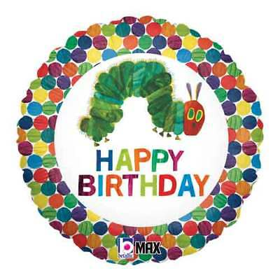 THE VERY HUNGRY CATERPILLAR FOIL MYLAR BALLOON ~ Birthday Party Supplies Helium - The Very Hungry Caterpillar Balloons