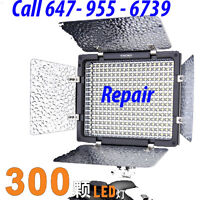 Yongnuo Professional LED Video Light Flash YN300 Repair