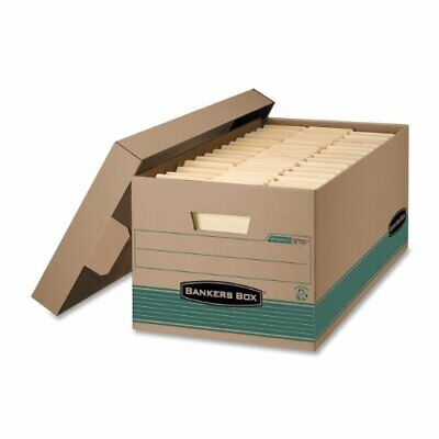 Bankers Box Recycled Storfile - Legal - Taa Compliant - Stackable - Medium Duty
