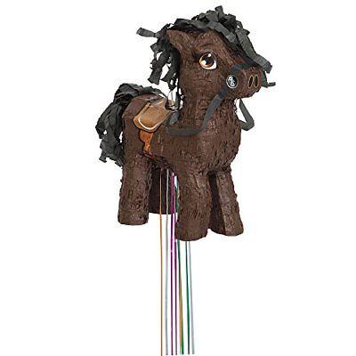 Brown Horse Pinata, Pull String