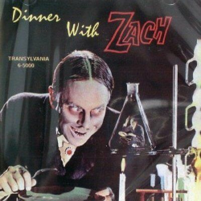 🔥 Zacherle- Dinner With Zach CD Cool Ghoul Halloween Horror (Transylvania) OOP ](Zacherle Halloween)