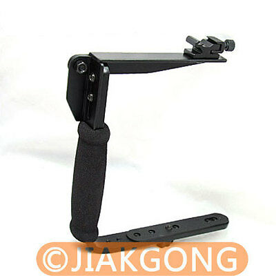 Flash Bracket Grip for CANON 550D 500D 450D 400D 1000D 7D 60D 50D T2i T1i XSi  Flash Bracket Grip