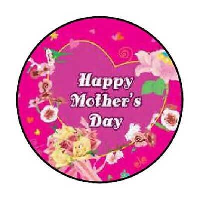 48 Happy Mothers Day #5!!!  ENVELOPE SEALS LABELS STICKERS 1.2