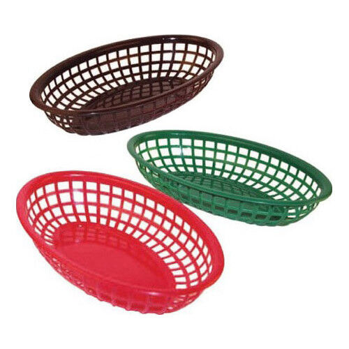 """Winware by Winco Woven Display Basket PWBN-9R 9/"""" Round"""
