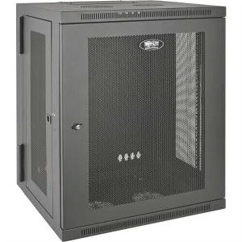 Tripp Lite SmartRack 15U Wall-Mount Rack Enclosure Cabinet SRW15US