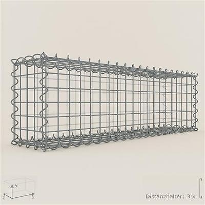 GABIONE / Steinkorb 100 x 30 x 20 cm, Maschenweite 5 x 5 cm, Gabionen