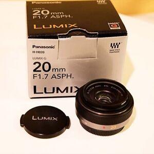 Objectif Micro 4/3 Panasonic LUMIX G 20mm f/1.7 II ASPH. (Noir)