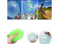 Inflatable Fun Ball Bubble Ball up to 50cm Pink Purple Green Yellow Toys