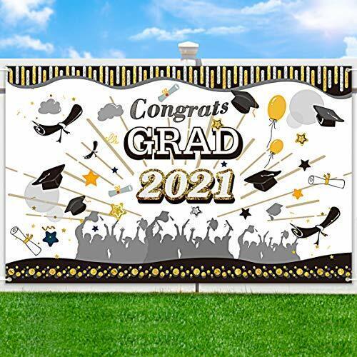 Graduation Banner 2021 Graduation Decorations Large Backdrop