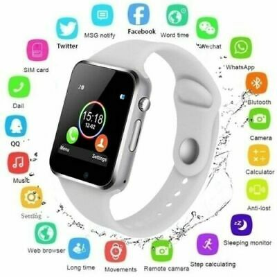 New Blue-tooth Smart Watch & Phone with Camera For i Phone Samsung LG HTC Huawei