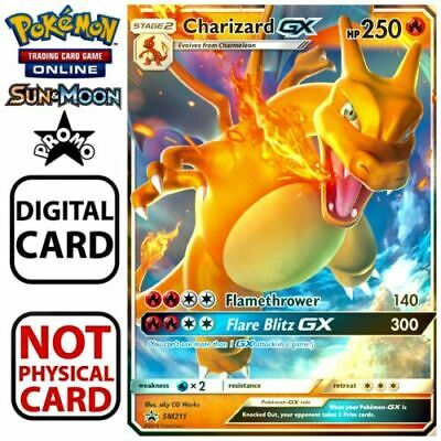 Charizard GX SM211 - Promo - Hidden Fates - Pokemon TCG Online Digital Card