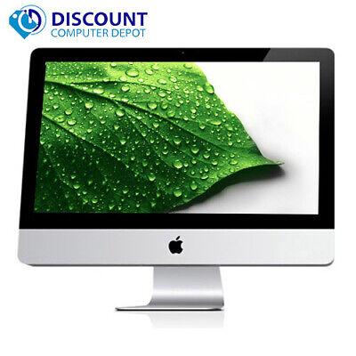 "Apple iMac 21.5"" Desktop Computer Quad Core i5 2.5GHz 4GB 500GB Mac OSX Sierra"