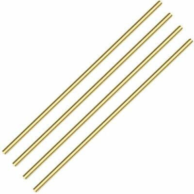 Sutemribor Brass Solid Round Rod Lathe Bar Stock 14 Inch In Diameter 14 Inch...