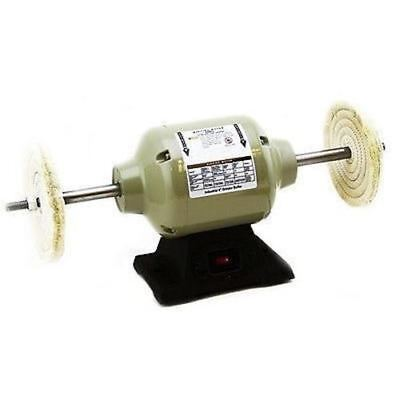 8 Electric Buffing Machine Bench Top Buffer Benchtop Polisher Polishing