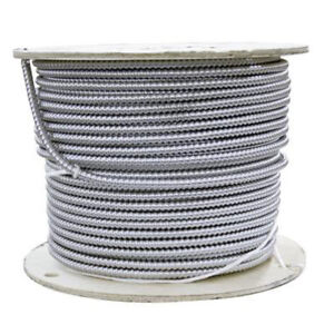 BX armoured electrical cable 14/2, 75-m spool - Brand New