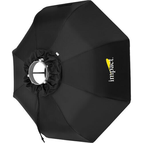 """USED Impact White Folding Beauty Dish 34"""" White w/ Diffusion Cover"""
