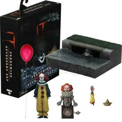Stephen King It Movie 2017 Pennywise Accessory Box Set for Action Figure Neca