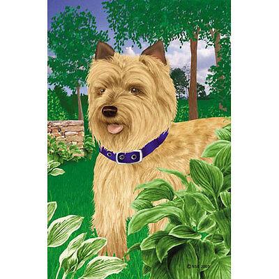 - Cairn Terrier House Flag