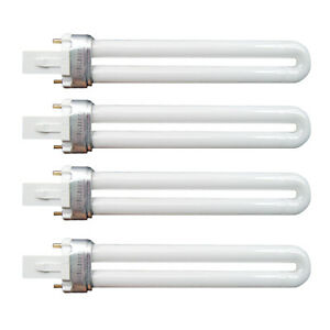 4-x-9w-UV-Lamp-Tube-Light-Bulbs-Gel-Nail-Art-Dryer-Replacement-Curing-Make-Up