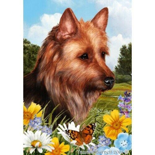 Summer House Flag - Australian Terrier 18203