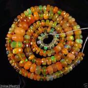 Natural Fire Opal Beads