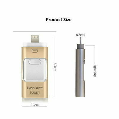 Us I Flash Drive Usb Memory Stick Hd U Disk 3 In 1 For