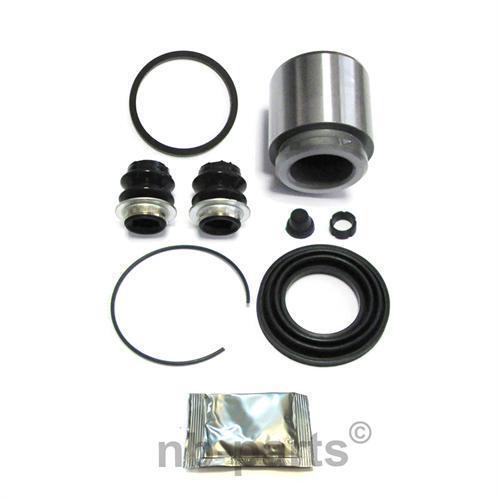 Brake Caliper Repair Kit + Piston Rear 1 11/16in Braking System AISIN Rep Set