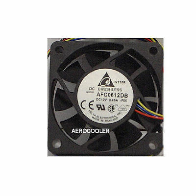 Dynatron DF126025BM 60mm x 25mm 7000RPM PWM PC Replacement Fan 12 Volt 3 wires