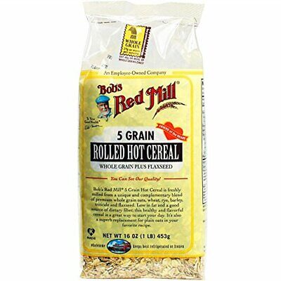 Bob's Red Mill 5 Grain Rolled Hot Cereal, 16-ounce