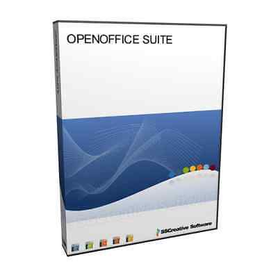 Open Office Professional Microsoft Ms Word Doc Excel 2007 Compatible Software