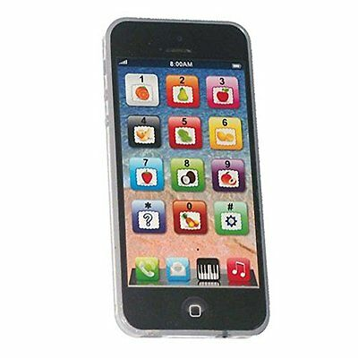 Cooplay Black Yphone Y-phone Kids Toddler Toy Play Music Cell Phone Mobile Phone