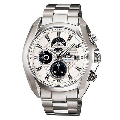 CASIO EF548D-7A EDIFICE CHRONOGRAPH MEN ANALOG SOLID STAINLESS STEEL
