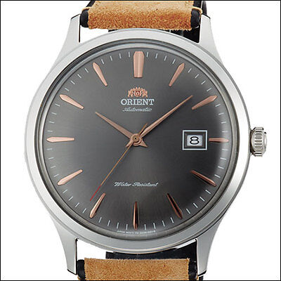Orient Bambino Version 4 Automatic Dress Watch, Grey Dial, 42mm Case #AC08003A