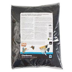 charbon actif pour aquarium flamingo 3 5 l 1 5 kg ebay