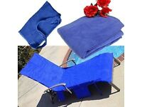 Lounger Mate Beach Towel Sun Lounger For Holiday Garden Lounge Pockets UK