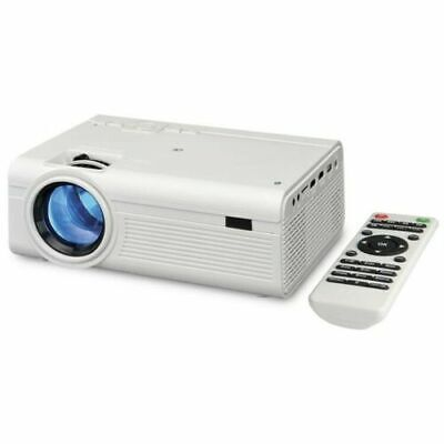 GPX Mini Projector With Bluetooth PJ308W 2000 Lumens Home Theater