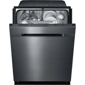 Selling black stainless samsung dishwasher