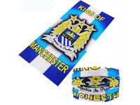 Manchester City FC Football Fans Face Mask Bandana Baraclava Scarf Free Shipping