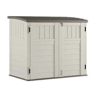 Suncast 34 Cu. Ft. Resin Horizontal Storage Shed w/Reinforced Floor - (Open Box) Suncast Resin Storage