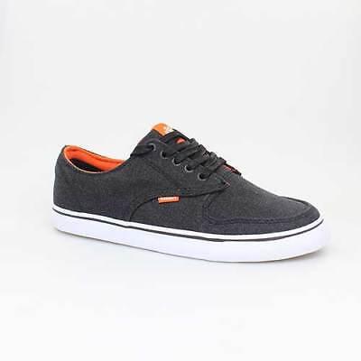 Orange Canvas Schuhe (ELEMENT SCHUHE TOPAZ BLACK SCHWARZ ORANGE CANVAS ETC3S2026335)