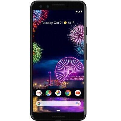 Google Pixel 3 128 GB Unlocked Smartphone 5.5  FHD+ 4GB RAM Just Black - Qualcom